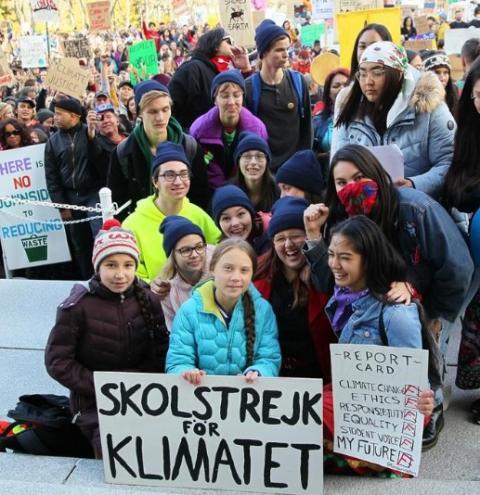 Jovens lideram manifestação a ser realizada em Queen's Park exigindo ação climática urgente