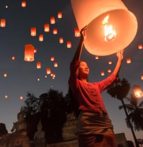 Festival das Lanternas de 2021 termina essa semana